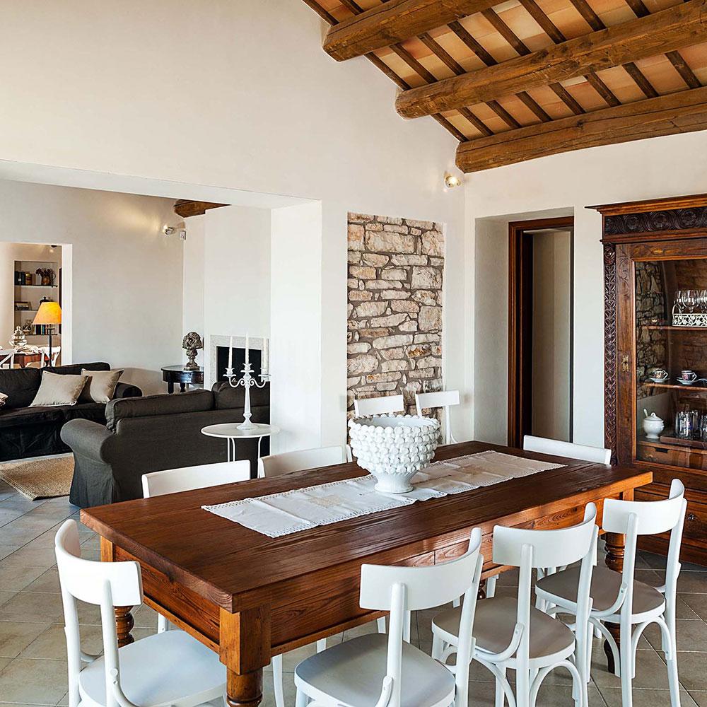 Villa Tangi's kitchen: luxury accommodation in Sicily