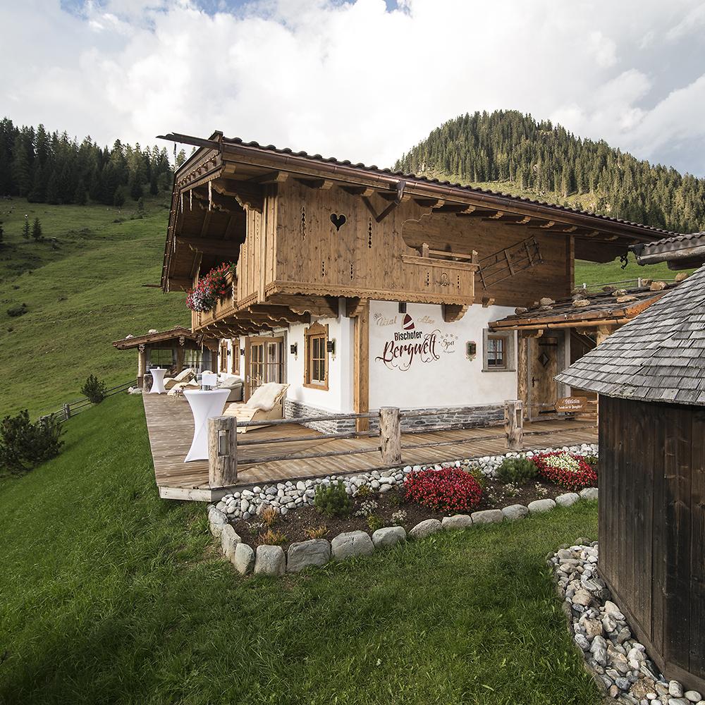 Bischoferalm: luxury lodge in Austria