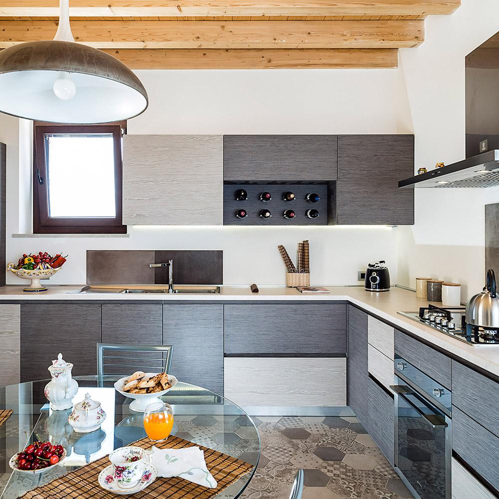 Casale Balate's kitchen: accommodation Ragusa Sicily