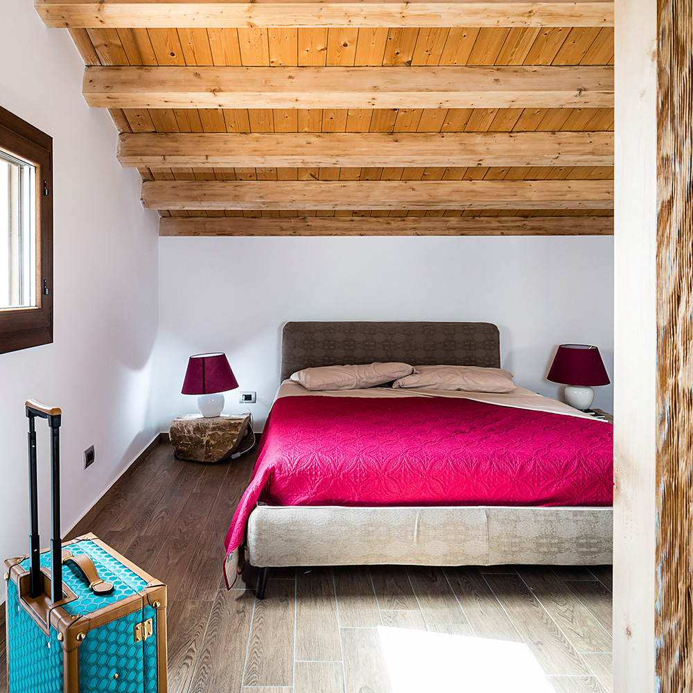 Casale Balate's bedroom: accommodation Ragusa Sicily