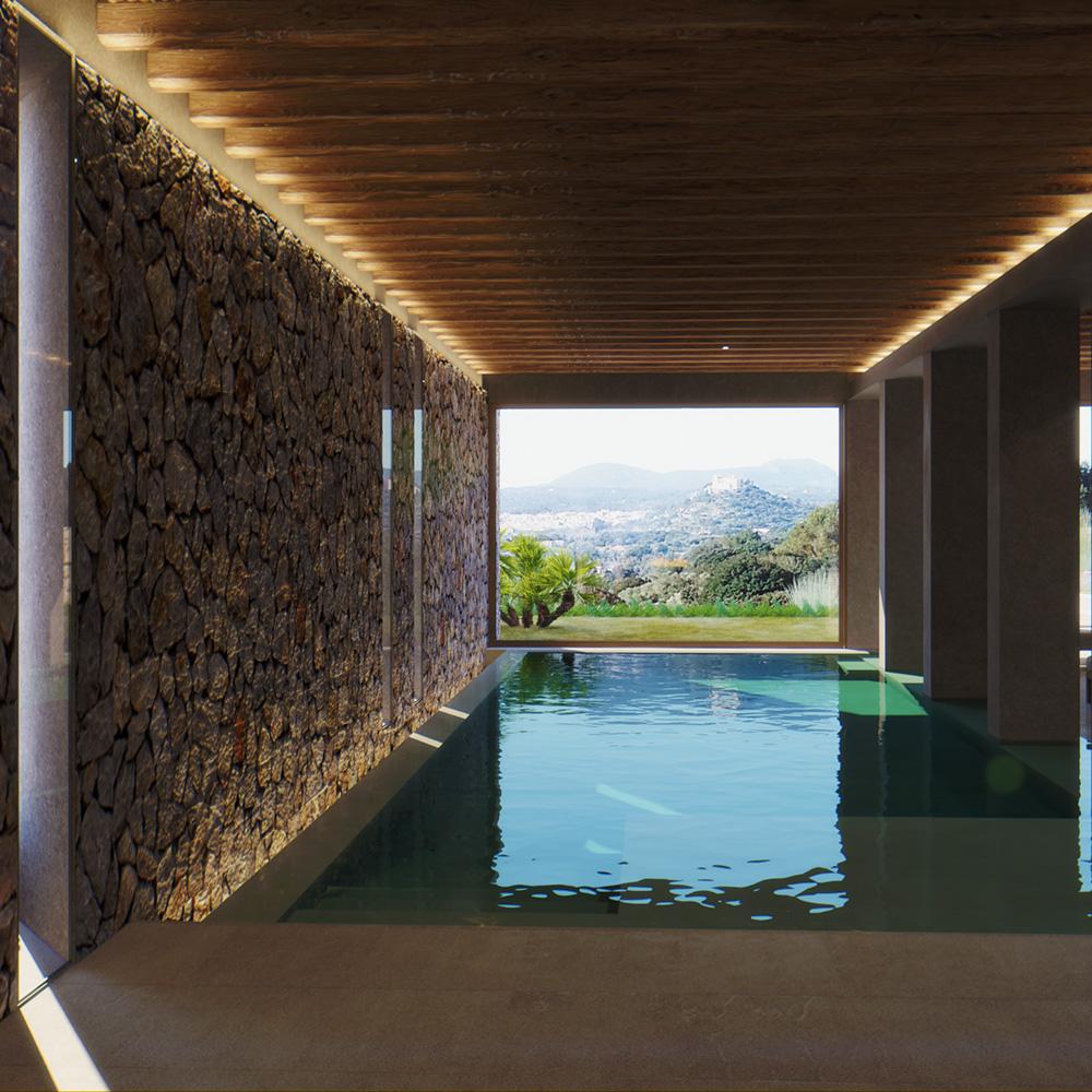 luxury resorts mallorca: swimming pool