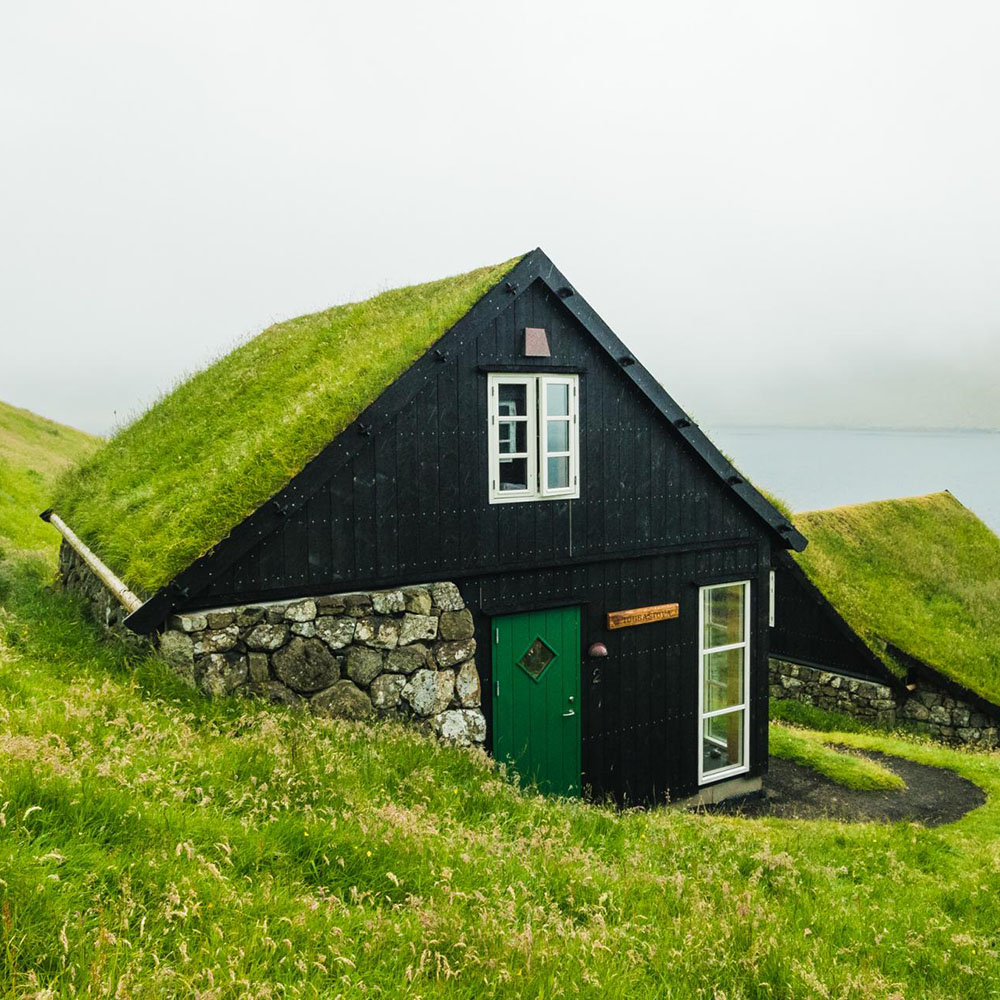 Bøur: cottage da sogno