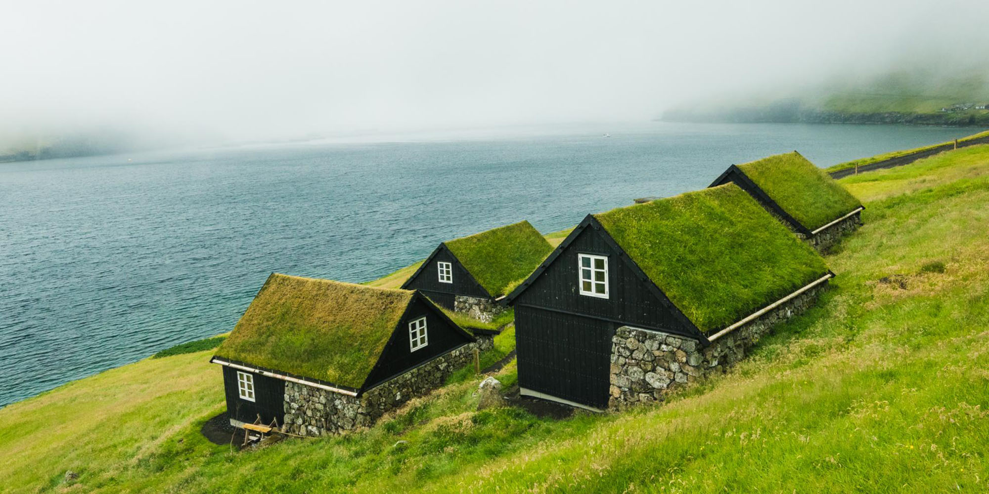 Discover the Faroe Islands : Stunning view from accommodation