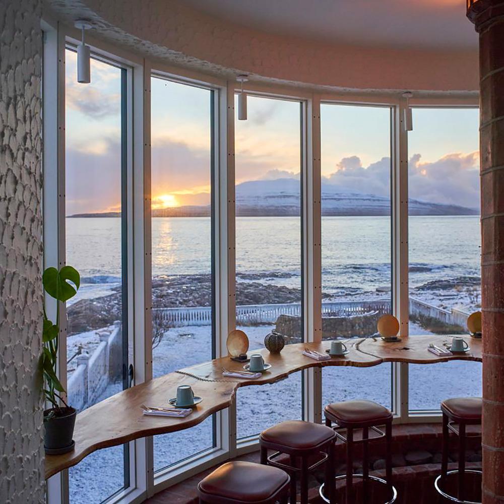 Havgrim Hotel Torshavn: Restaurant view