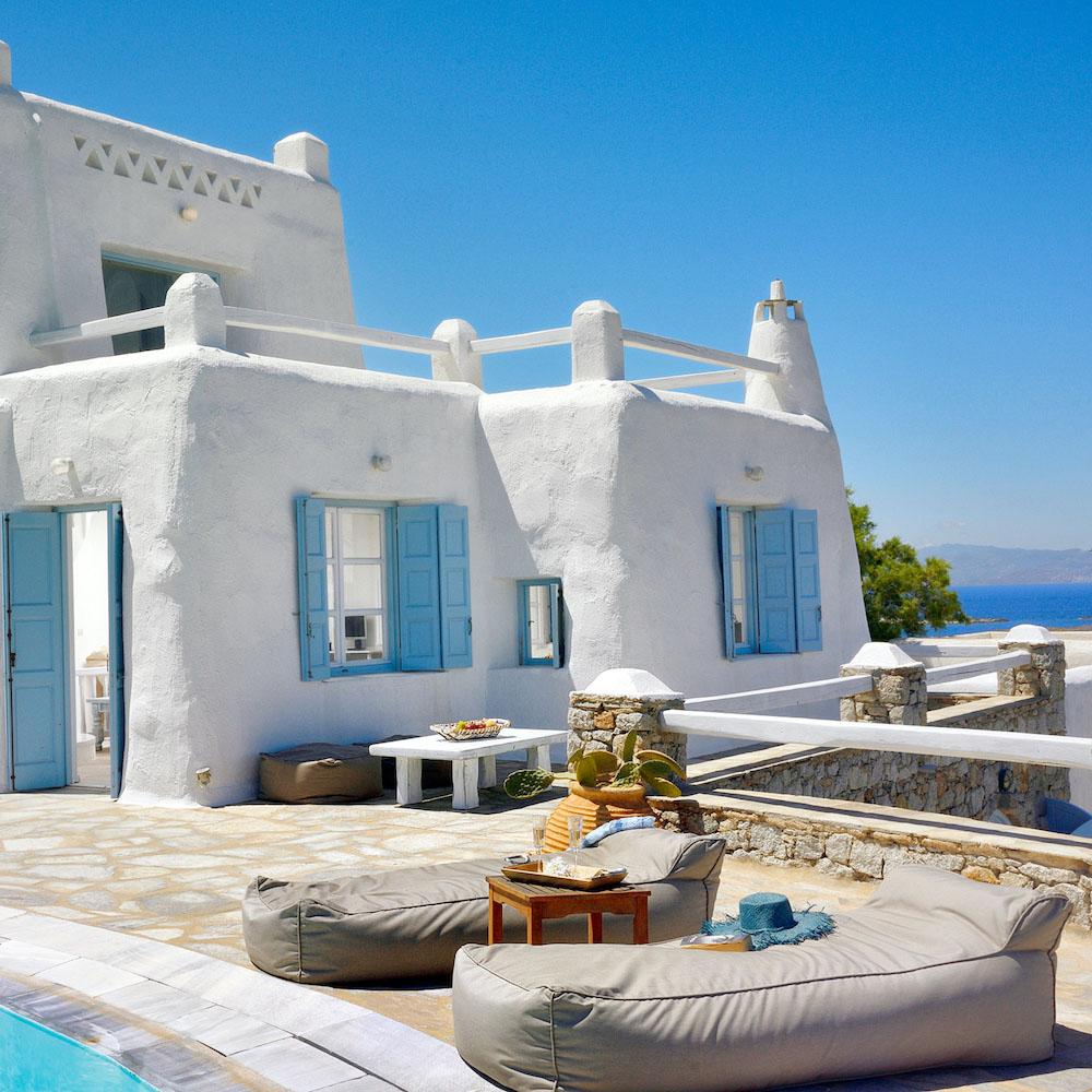 Vacanze a mykonos: villa aquileira details