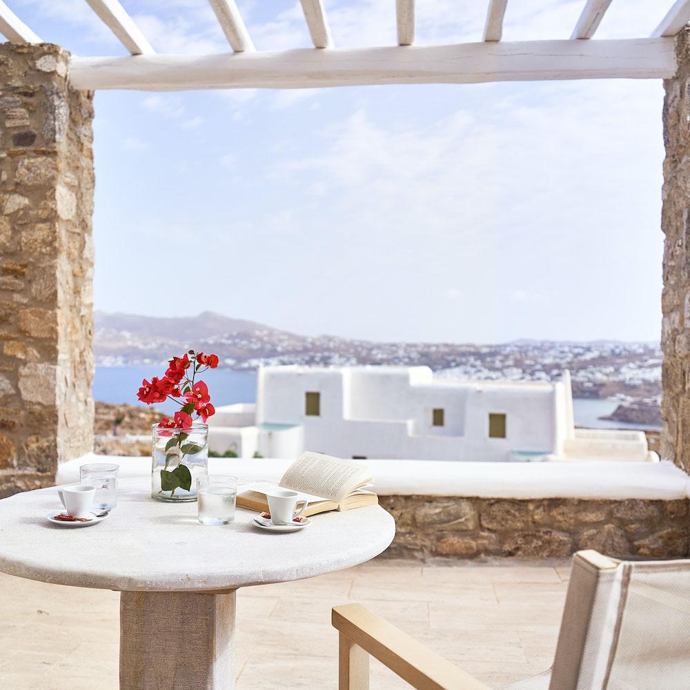 Ville a mykonos: Villa Petrolefko panoramic spot