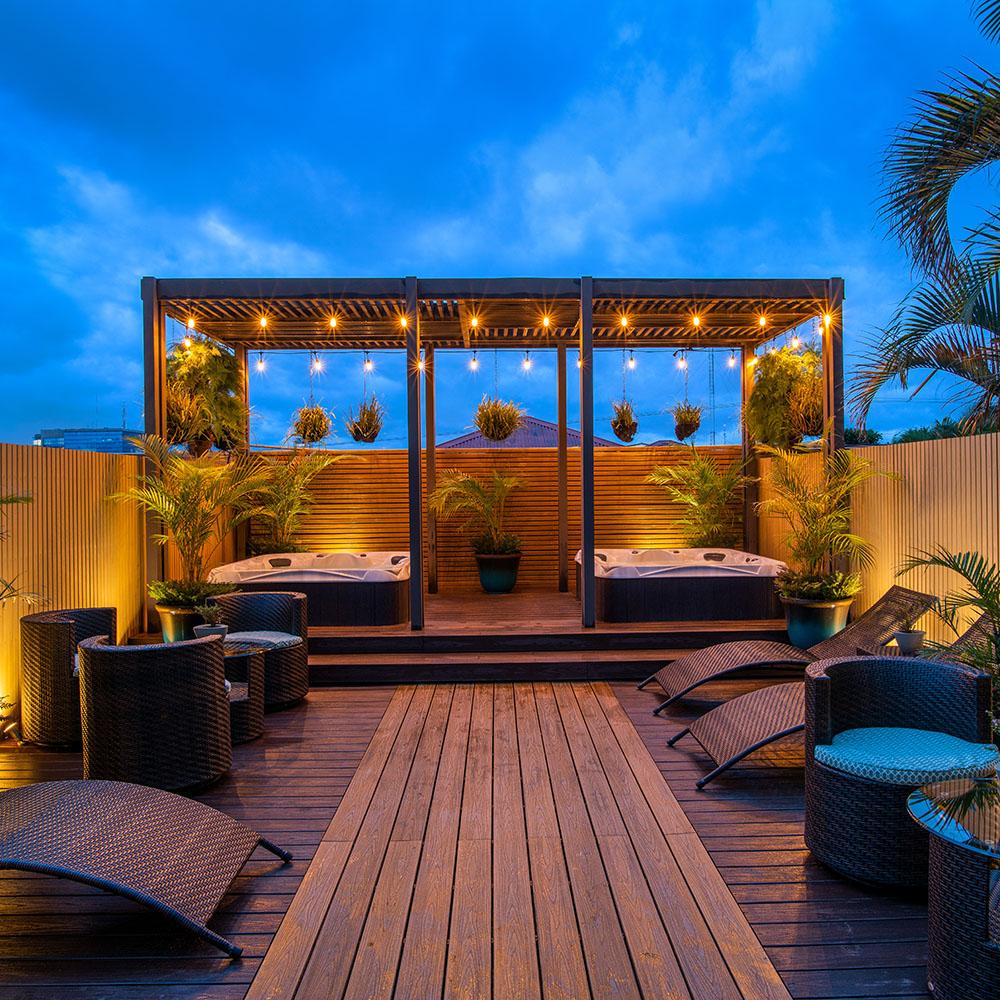 Hotel Grano De Oro: terrace details