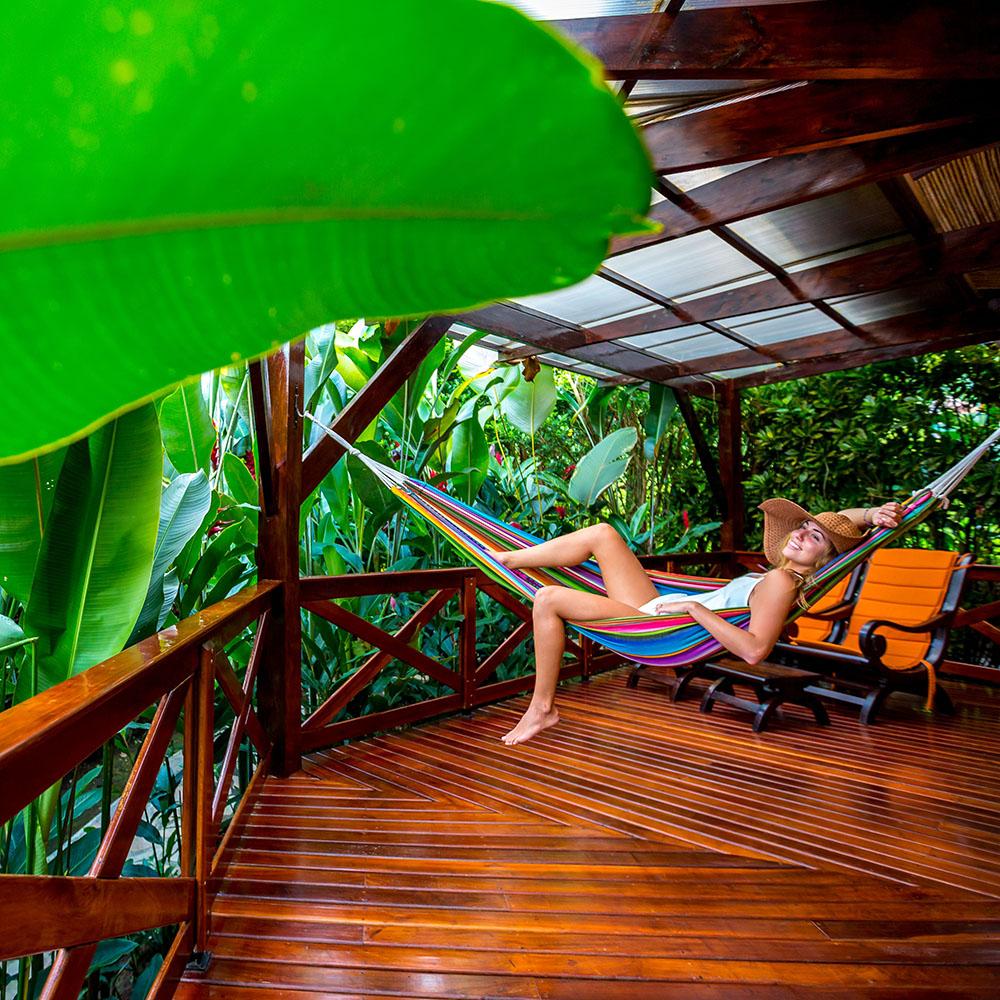 Nayara Resort: suite terrace