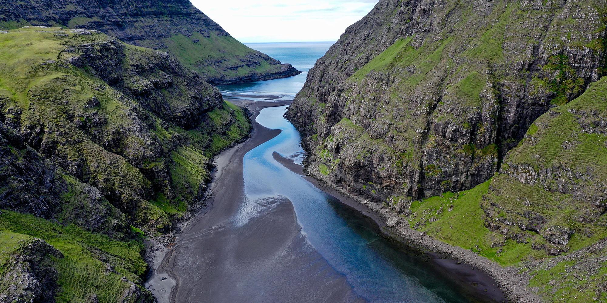 Discover the Faroe Islands : panoramic spot