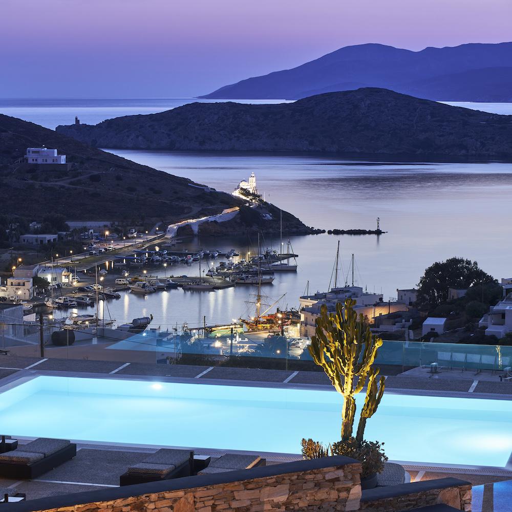 Liostasi Hotel & Suites Ios: seaside view